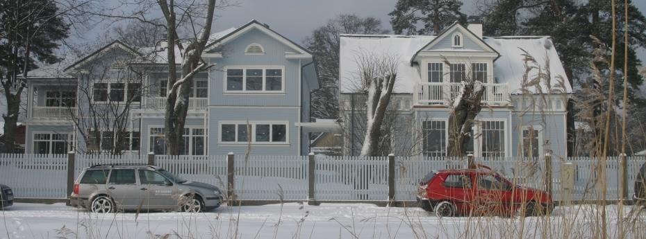 Mājas pārbūve un divu jaunu dzīvojamo vienību izveidošana