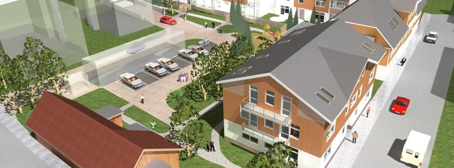 Māju pārbūve un jaunbūve Kungu ielā 29 un Bāriņu ielā 31