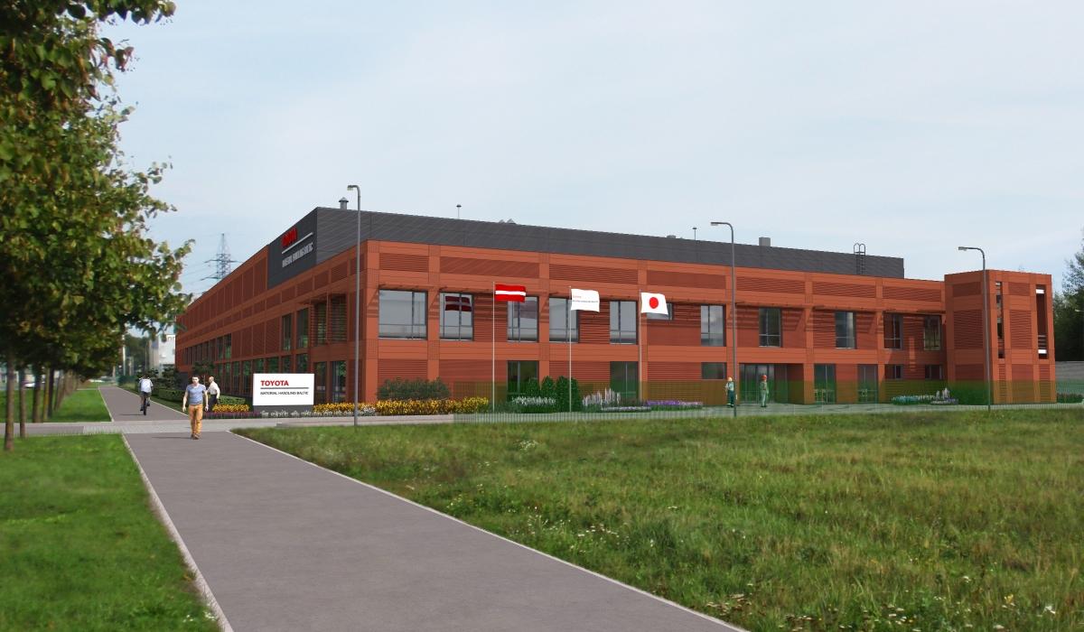 Toyota ēku komplekss Rīgā