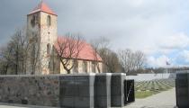 Latviešu leģiona karavīru kapi Lestenē