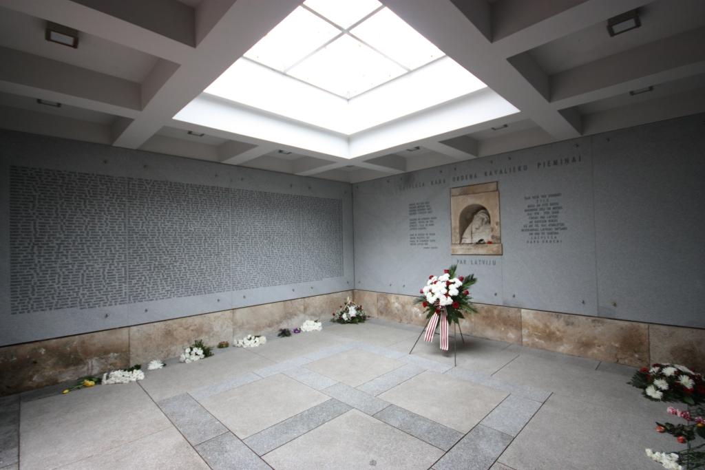 Lāčplēša Kara ordeņa kavalieriem veltītā piemiņas telpa (1. depozitārijs)