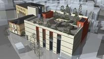 Projekta mets rekonstrukcijai un piebūvēm Liepājā