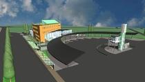 Rīgas rezerves autoostas skiču projekts
