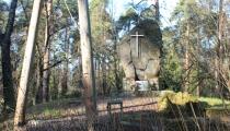 Pieminekļi vācu karavīriem II Meža kapos Rīgā