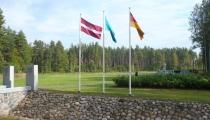 II p.k. kritušo vācu karavīru kapi Beberbeķos