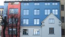 Mājas pārbūve un paaugstināšana Rīgā, Dzirnavu ielā