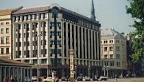"""""""Hotel de Rome"""" un bankas ēkas jaunbūves Rīgā"""