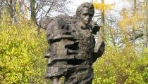 Ukraiņu dzejnieka Tarasa Ševčenko piemineklis Rīgā